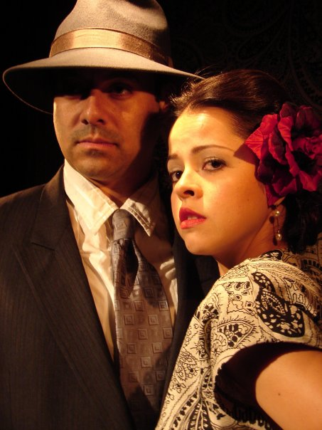 Juan Villa and Emma Ramos ''Telenovela Vignette'' / Ontological Theater
